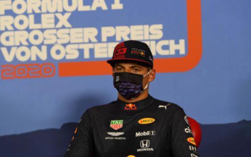 Verstappen ziet geen kwaad in actie Hamilton: ''Dat was niet zijn intentie''
