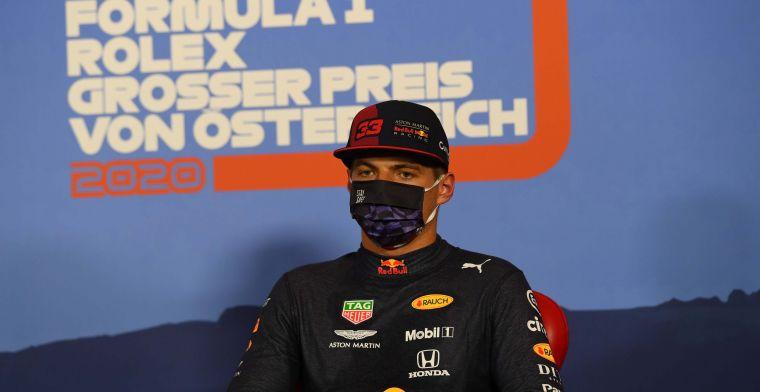 Verstappen nuances the battle between Albon and Hamilton in Austria