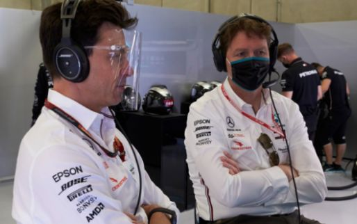 Toto Wolff's a little worried: