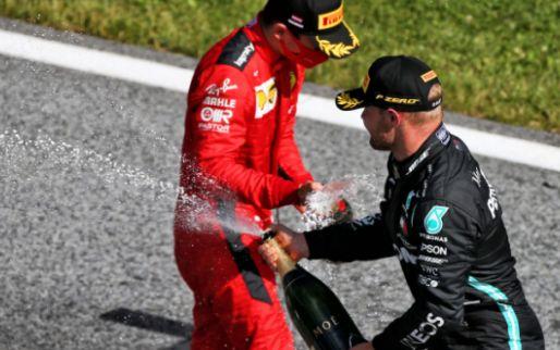 Leclerc en Bottas verlieten 'bubbel' in Oostenrijk voor een paar dagen thuis