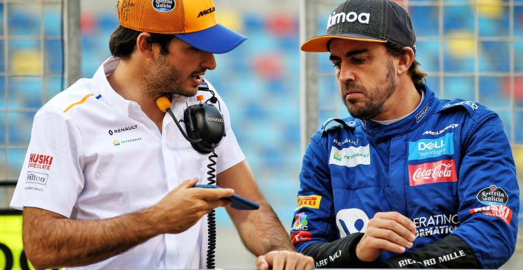 Sainz happy to return Alonso: ''The best drivers belong in Formula 1''