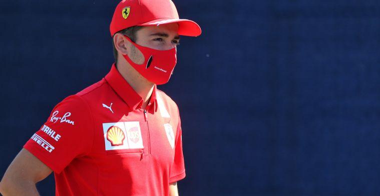 Ferrari gewaarschuwd voor overtreden coronaregels door Leclerc