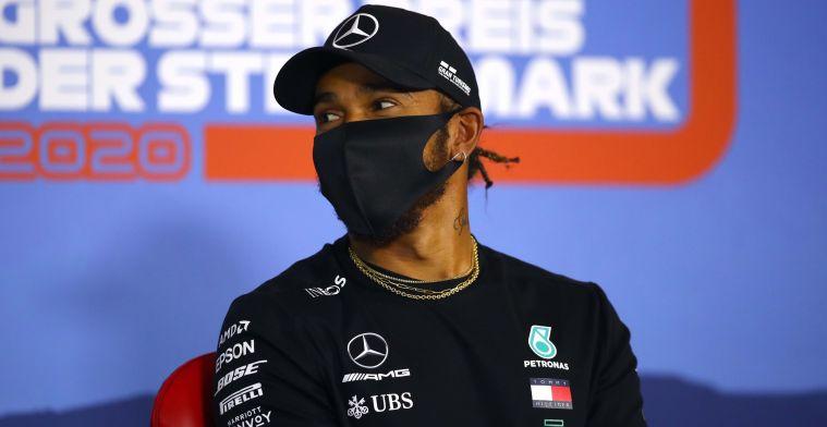 Lewis Hamilton: I think we should still be careful.
