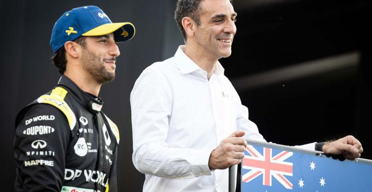 Abiteboul despite Alonso not happy with Ricciardo: ''Timing was not fine''