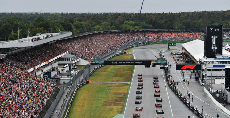 'Formula 1 also returns in Hockenheim'