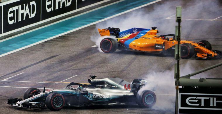 Hamilton geeft tip aan Ocon voor strijd met Alonso: ''Laat je niet afleiden''
