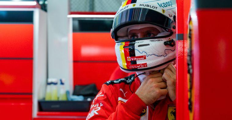Vettel goed te spreken over upgrades Ferrari: Voelt als een andere auto