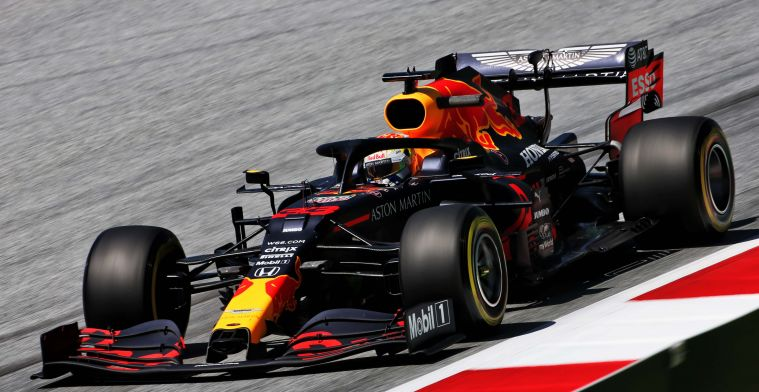 Red Bull Racing heeft nieuwe achtervleugel voor Verstappen in Oostenrijk