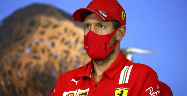 Vettel's chances for 2021 are dwindling: We don't have room for him.