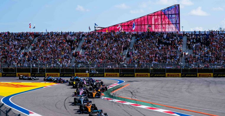 Organisation GP Russia wants to organize race with spectators