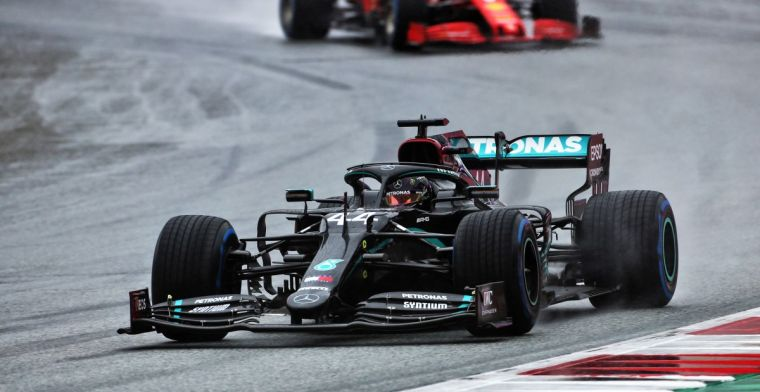 Hamilton had a big moment on the way to pole: I had my heart in my throat!