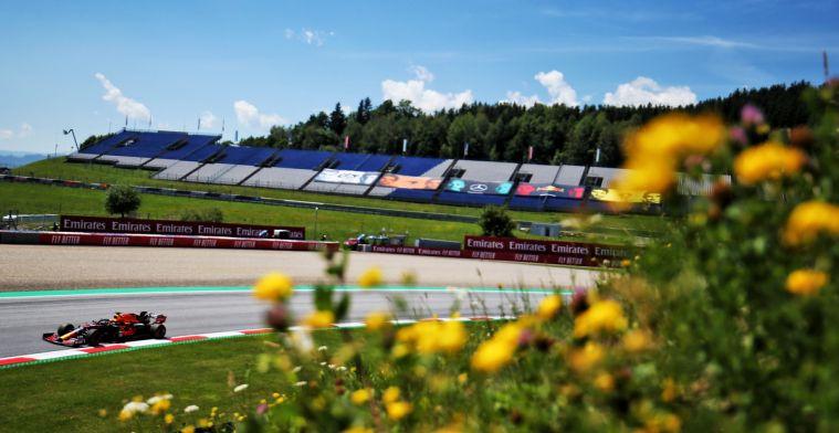 Zo laat zal Verstappen vertrekken vanaf P2 tijdens de GP van Steiermark