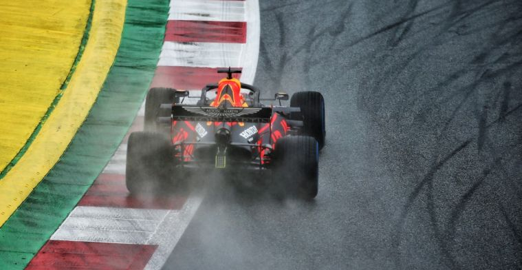Verstappen had trouble with a lot of rain: Q3 was a really difficult session for