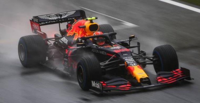 Albon: Verstappen's data was useful, even in the rain