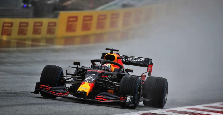 Verstappen: We had problems with the wet track at the end.