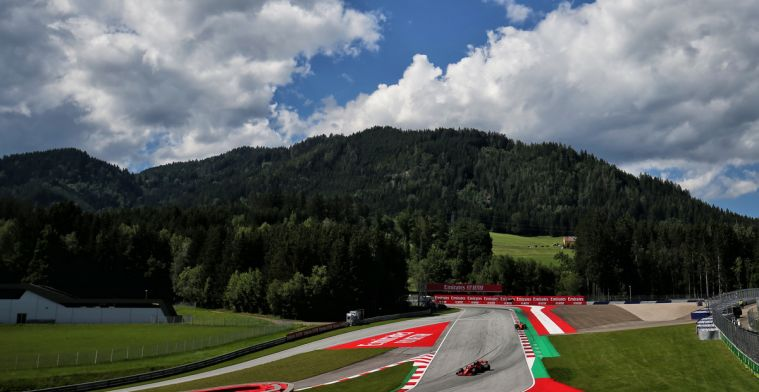 Weather forecast for the Styrian GP: No more rain