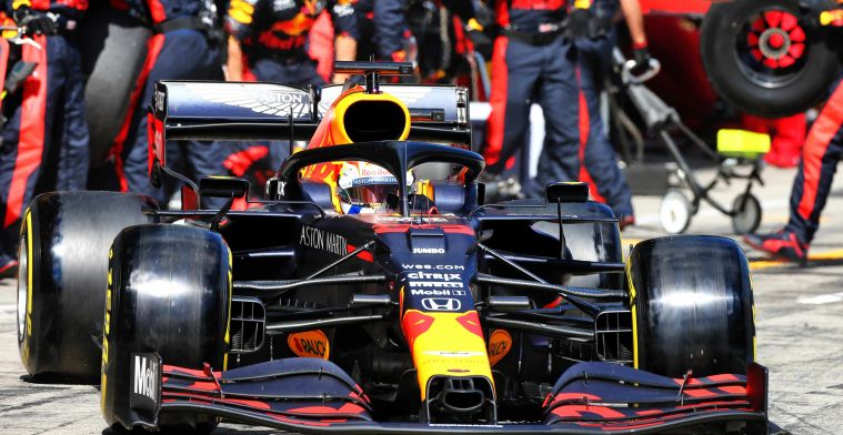 Verstappen drove to third place in a car worse than Racing Point