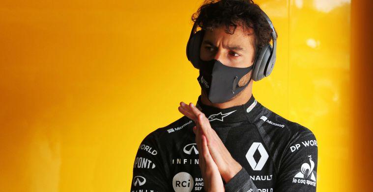 Ricciardo zet Renault onder druk: 'Ik was duidelijk sneller dan Ocon'