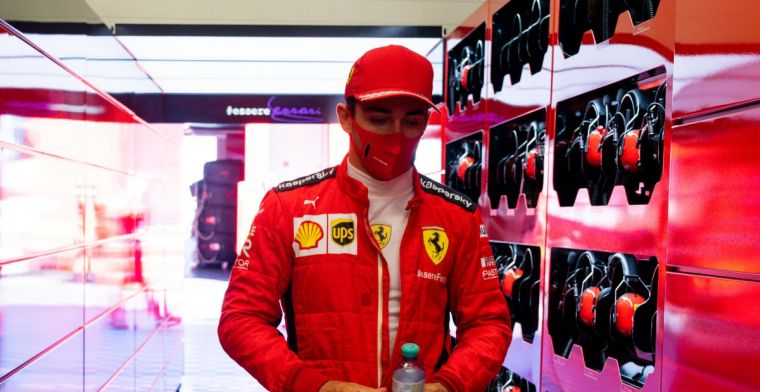 Silence at Ferrari after collision Leclerc: Team suspends all media obligations