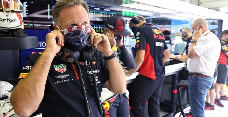 Horner comes up with remarkable statement: Potential blister on band Albon