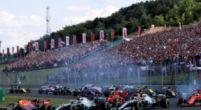 Afbeelding: Hungaroring: Eerste wedstrijd achter IJzeren Gordijn; spektakel in laatste ronden