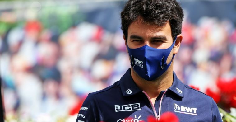Perez anticipates arrival Vettel: 'Manager busy talking to other teams'