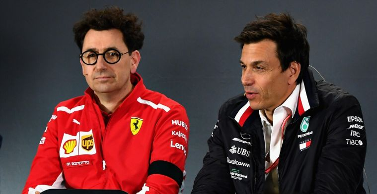 Ferrari thinks that Mercedes thinks too much of itself in F1