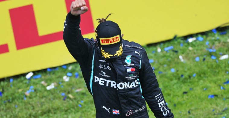 Black Power gesture on podium a moment that Hamilton 'will never forget'
