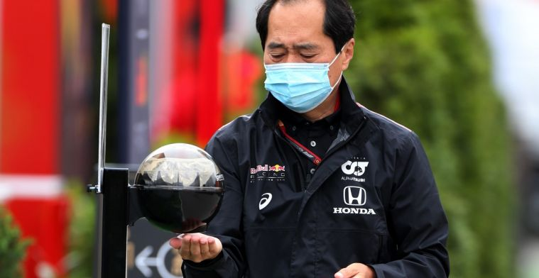 Tanabe reassured Verstappen: There was no problem