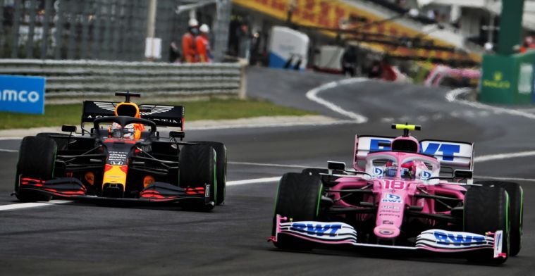 Verstappen when Racing Point: When you copy, you'll always be behind