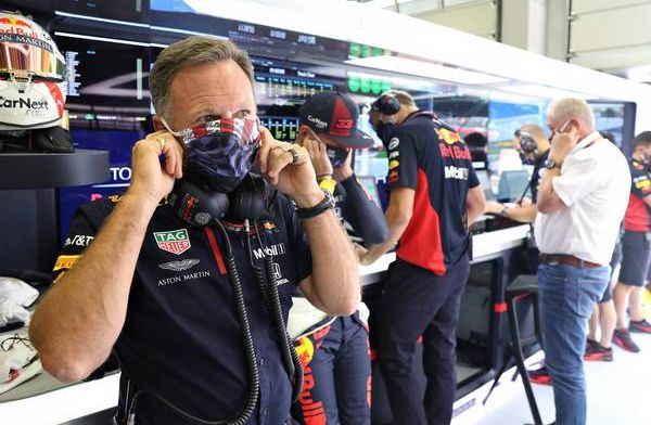 Horner: The funny thing is, I wasn't even stressed about it