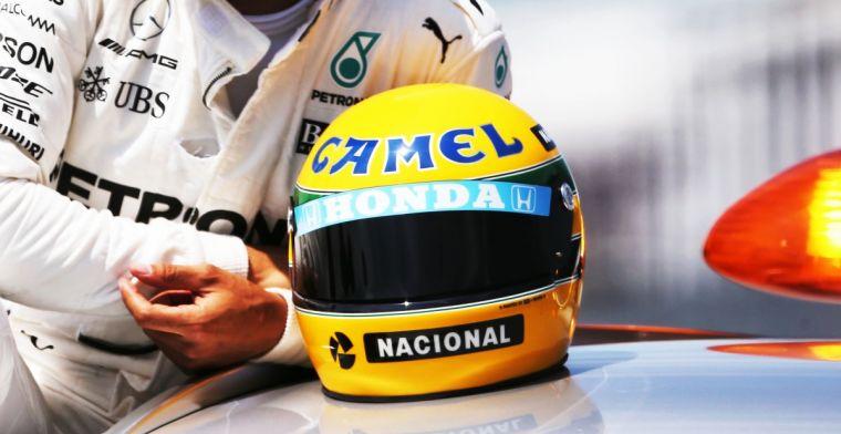 Senna memorabilia ter waarde van tonnen na diefstal teruggevonden