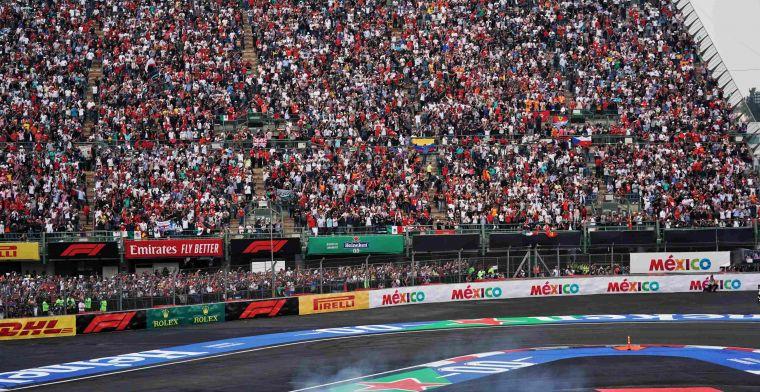 GP's van Amerika, Mexico, Canada en Brazilië afgelast! Beslissing accepteren