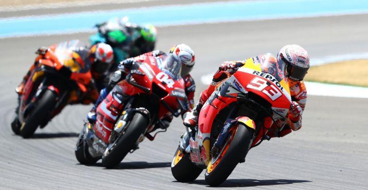 Update:  Marquez probeerde te kwalificeren, maar gaat niet van start in race