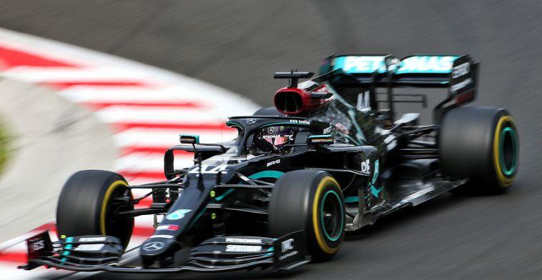 Is Mercedes bezig met olie verbranden? Die witte rook komt ergens vandaan