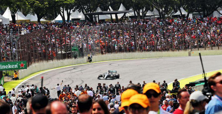 """Promotor GP Brazilië woest na afgelasting: """"Lijkt wel of ze een reden verzinnen"""""""