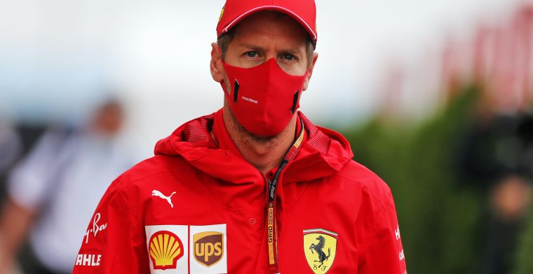 Vettel looks back on switching to Ferrari: We failed in that.