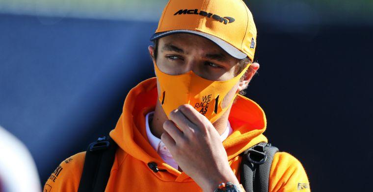 Norris onder de indruk van Hamilton: Hij kan iedere race winnen