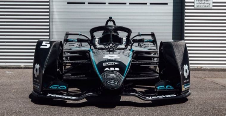 Mercedes pulls through the idea of black livery: Also FE team shrouded in black