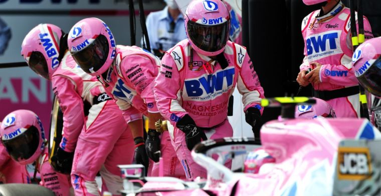 Perez went back to Mexico before positive test