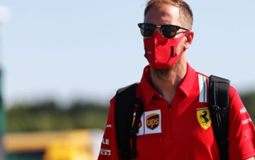 Vettel jokes after Friday practice, suggesting he'll become a pundit!