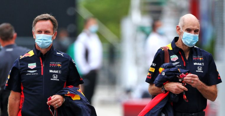Horner guilty: Knowing that the car we gave them is not optimal