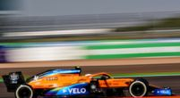 """Image: Norris not entirely satisfied: """"The car is rather unpredictable"""""""