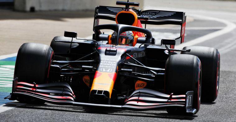 Red Bull langzamer dan vorig jaar in kwalificatie Britse GP