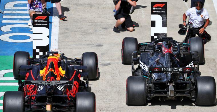 Voorlopige startopstelling voor de GP Groot-Brittannië: Verstappen achter Mercedes