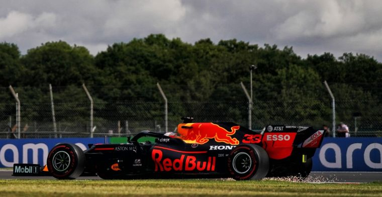 Verstappen: You saw right away that Mercedes is way too fast here