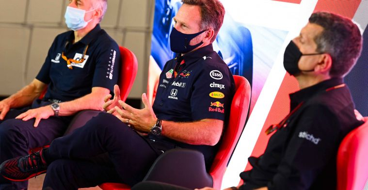 Is the Red Bull closer to Mercedes? It's hard to predict