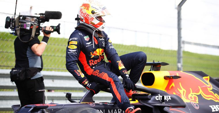 Verstappen very sporting: In the end they deserved to win