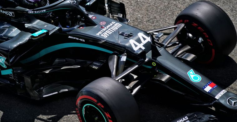 'Mercedes had in qualifying mode 1022 horsepower with the W11'