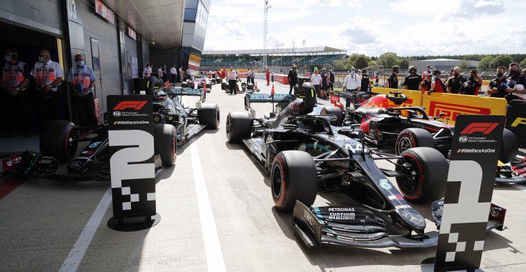 Definitieve startopstelling: Verstappen P3, sterk optreden van McLaren